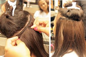 Extensions de cheveux Tissage